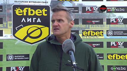 Валентич: Имаме два мача да завършим добре сезона, Левски е по-силен от предния път