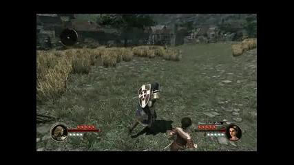 The First Templar геймплей