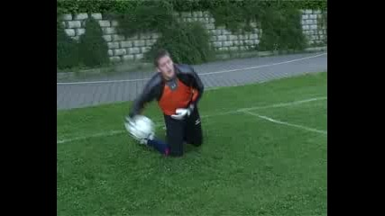 Goalkeeper trening