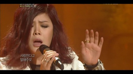 120324 Lyn - Love is Forever- Immortal Song 2