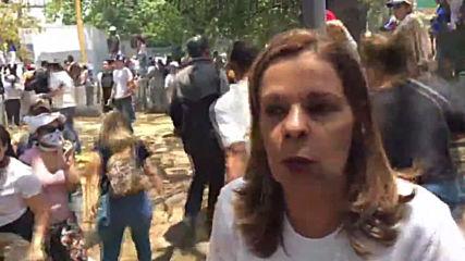 """Венецуела: """"Те стрелят по нас"""" - казва протестираща срещу Мадуро"""