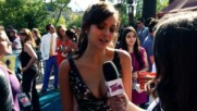 Nina Dobrev Teen Choice Awards 2013 Interview