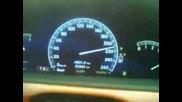 Mercedes S350 60 - 220km/h