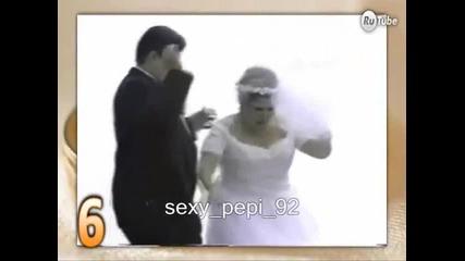 Топ 10 сватбени издънки