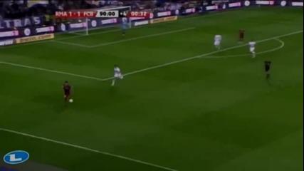 Messi шути топката към феновете на Реал Мадрид H D