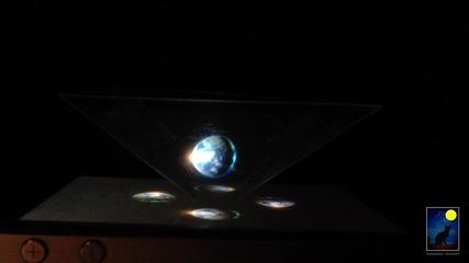 Холограма с iphone