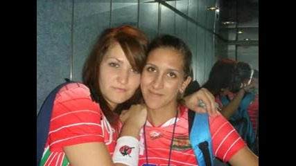 Bulgarian handball team /girls/ - /sweden/