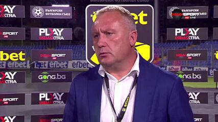 Николай Киров: Доволен съм от победата, но да не се водим от емоциите