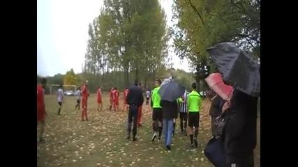 Побой над съдията на селски футболен мач