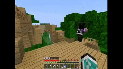 Minecraft Jungle survival with whitenoize and Demona ep12