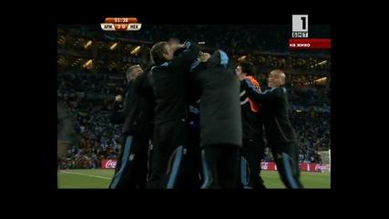 argentina - meksiko.super gol na tevez.osmina final.27.06.2010.novo