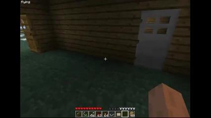 (final update) Minecraft Отваряне на врата със стил