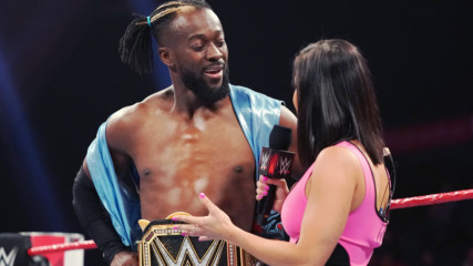 "Kofi Kingston is a guest on ""The Sami and Kevin Show"": Raw, June 24, 2019"