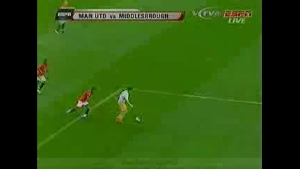 Man United Vs Middlesbrough