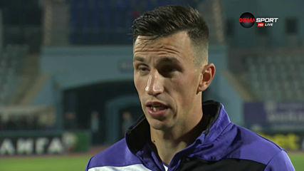 Румен Руменов: Беше важно да се вдигнем след 0:5