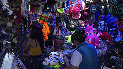Coronavirus costumes to be part of Mexico's Day of the Dead celebrations