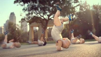 Реклама с бебета - Смях