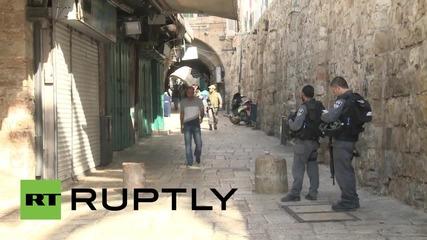 Палестина: Размирици избухнаха след забрана за достъп на палестинци до стария Йерусалим