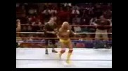 1991.03.25 World Tour - Hulkhogan & Ultimatewarrior vs Undertaker Generaladnan & Sgtslaughter