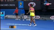 Serena Williams vs Maria Sharapova 2015 Australian Open Finals Highlights