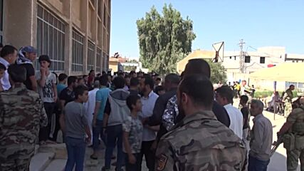 Syria: Weapons surrendered in Tafas amid truce deal