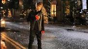 Justin Bieber в студиото ( Under The Mistletoe )