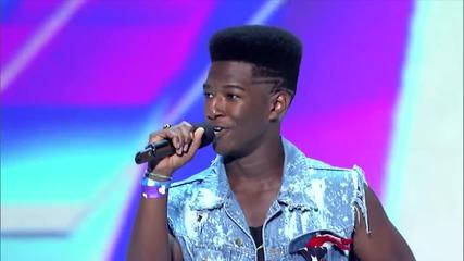 Момче смая журито с гласа си в X Factor Америка 2012