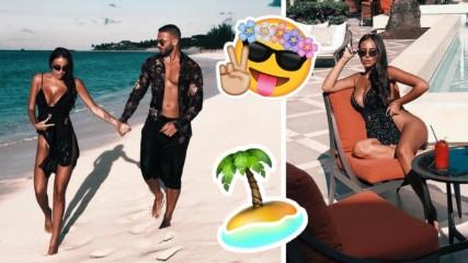 Какво се случва?! Николета Лозанова с мистериозен мъж на Бахамите?