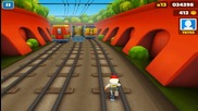 Subway surfers над 100 000 точки :)