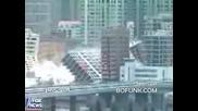 Взривяване на 16 сгради едновременно