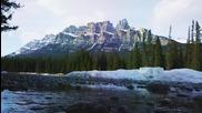 Албърта, Канада - красота, замръзнала във времето!