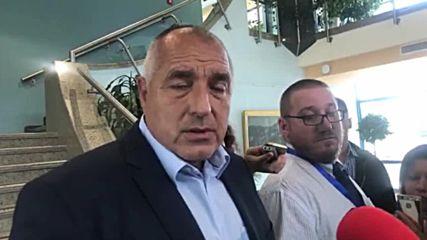 Борисов: Със стара дата не можем да приемаме мигранти