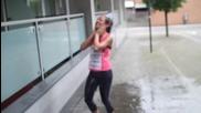 The Cheerleader accepts the Als Ice Bucket Challenge