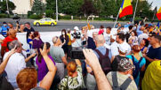 Romania: Hundreds of COVID sceptics protest quarantine bill in Bucharest