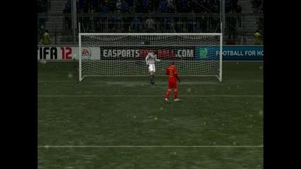 Bayern Munchen - Chelsea  fifa 12 Penalty 