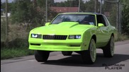 Neon Green Monte Carlo on Davin Pearl- Detroit City Limit Series