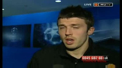 Michael Carrick Interview - 15.04.09