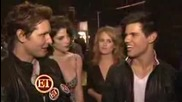 Twilight Cast Backstage Mtv Movie Awards 2009