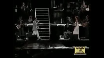 Marc Anthony & J Lo (live) - No me ames (превод)