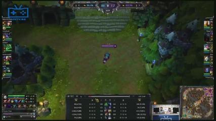 Afk Tv Финали на Eps - Lol полуфинал №1 Crossfire Gaming vs Obicham Parjoli - част 03