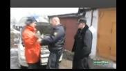 Руснак атакува полицай с лопата