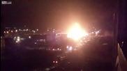 Камион с пропан избухва на Руска газстанция!