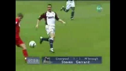Много Як Гол На Steven Gerrard