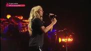 Ellie Goulding - Burn (at Children In Need Rocks концерта посветен на деца в беда) 2013*превод*