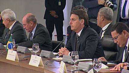 Brazil: Putin, Bolsonaro meet on sidelines of BRICS summit