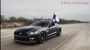 Hennessey Mustang H P E 700 (к.с.) подивява с над 300 км/ч