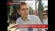 Крадци вилнеят на женския пазар в София - Часът на Милен Цветков