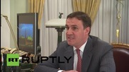 Russia: Putin meets with Russian Agricultural Bank chairman