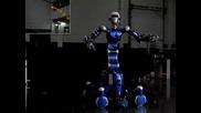 Най-умният робот Justin.изпробване!(забавен кадър)