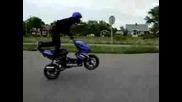 Andreas Gustafsson Aerox Stunt !!!